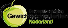 logo van de beroepsvereniging gewichtsconsulenten nederland