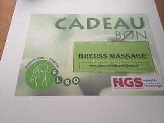 Doe mee aan de Weggeefactie voor een Breuss massage!